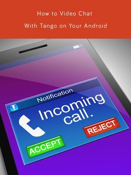 Make Free Tango Calling Guide screenshot 3