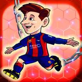 Messi Run Games icon