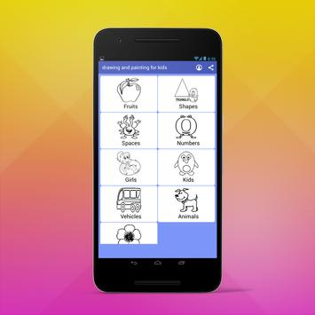 Drawing And Painting For Kids screenshot 1