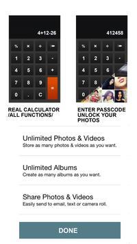 Private Photos, Videos & Notes - Secret Calculator screenshot 1