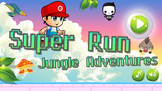 Super Run Jungle Adventures poster
