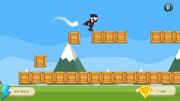 Ninja Runner Jump apk screenshot