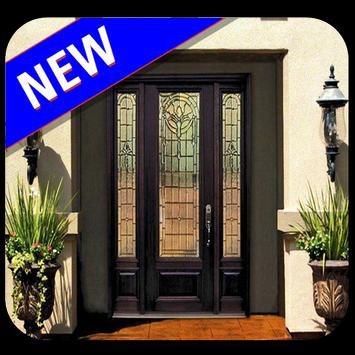 Pintu Rumah Minimalis الملصق