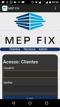 MEP FIX Segurança Eletronica poster