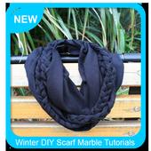 Winter DIY Scarf Marble Tutorials icon