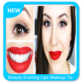 Beauty Evening Lips Makeup Tutorial icon