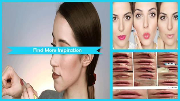 Beauty Evening Lips Makeup Tutorial screenshot 1
