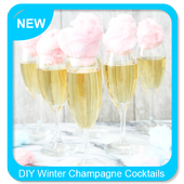 DIY Winter Champagne Cocktails icon