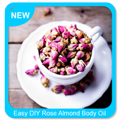Easy DIY Rose Almond Body Oil icon