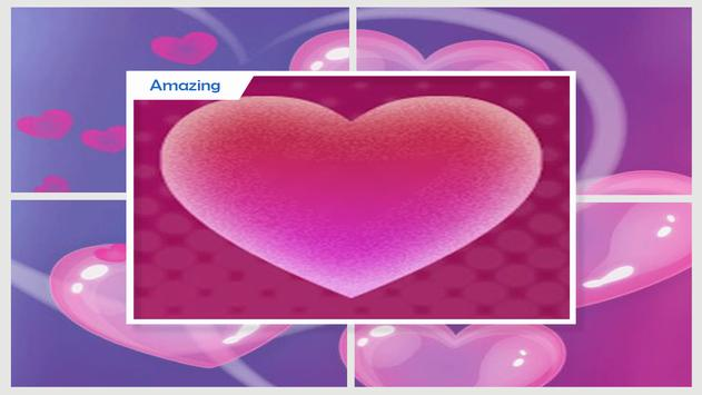 Pink Hearts Live Wallpaper apk screenshot