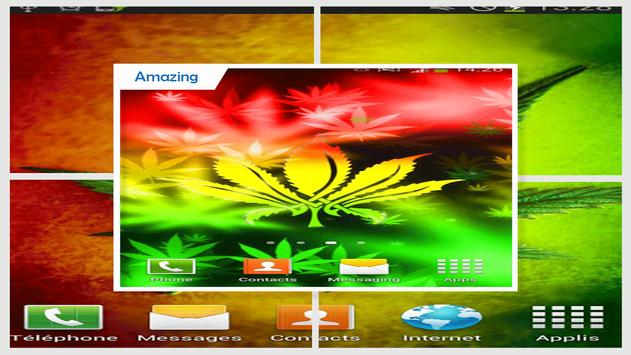 Rasta Weed Live Wallpaper screenshot 2