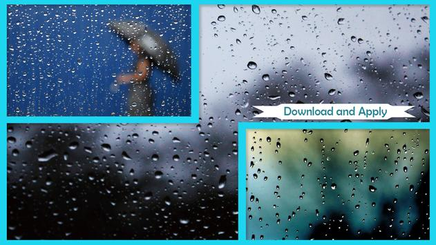 Rain Drops Live Wallpaper poster