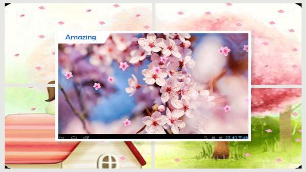 Sakura Live Wallpaper HD screenshot 1