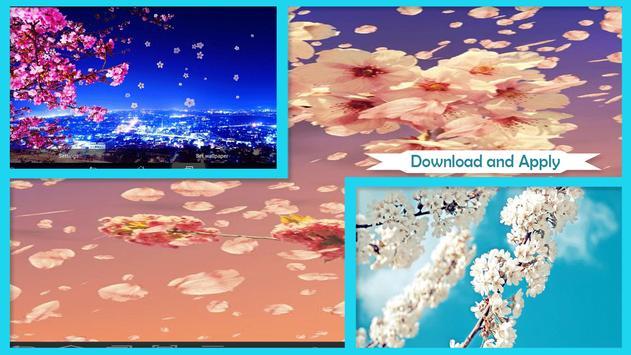 Sakura Live Wallpaper HD screenshot 4