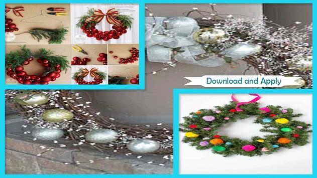 Simple DIY Christmas Fun Ornament Wreath screenshot 1