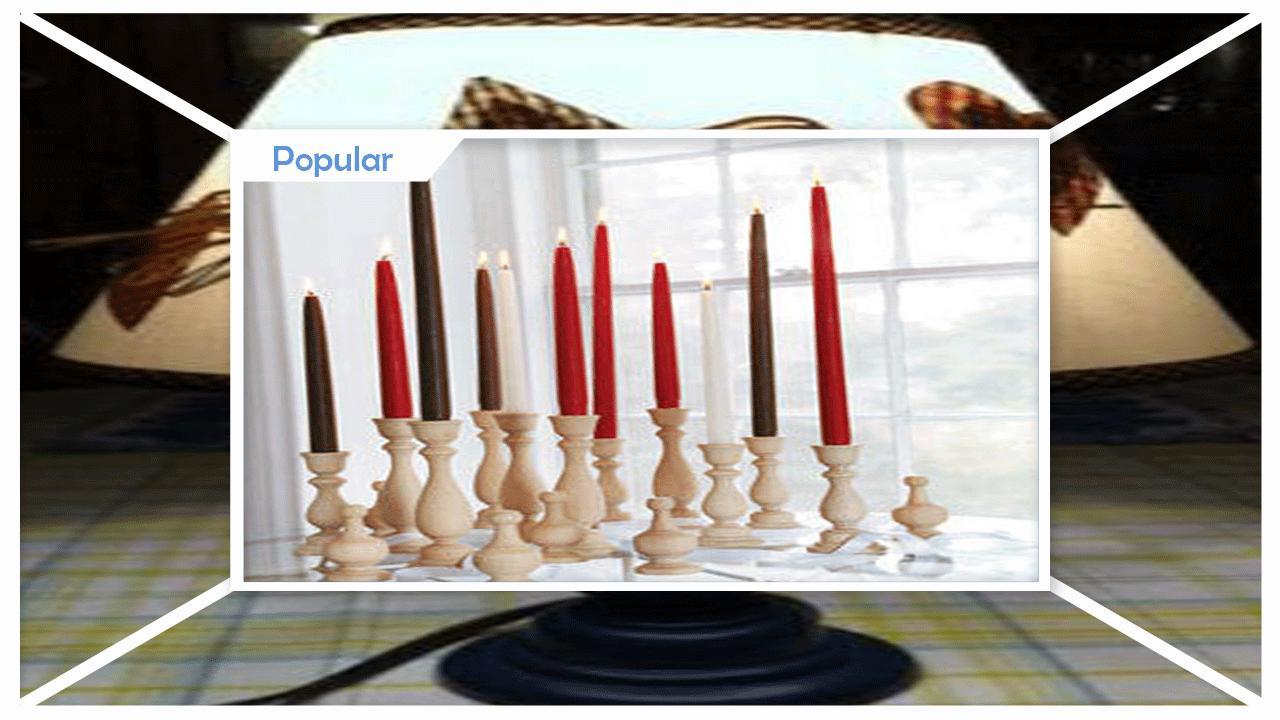 Simple Styrofoam Chunky Candleholders poster
