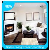 Stylish Living Room Decorating Ideas icon