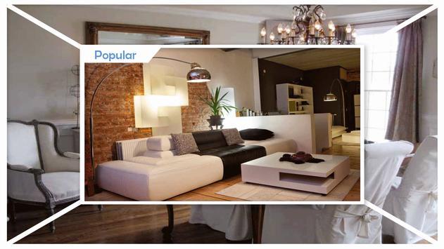 Stylish Living Room Decorating Ideas apk screenshot