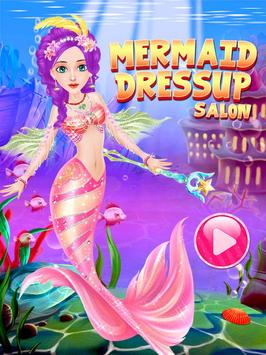 Mermaid Princess Salon Dress Up screenshot 4