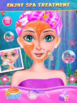 Mermaid Princess Salon Dress Up poster