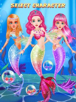 Mermaid Princess Salon Dress Up screenshot 2