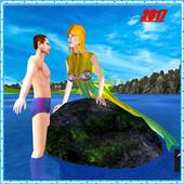 Hungry Mermaid Simulator Sea icon