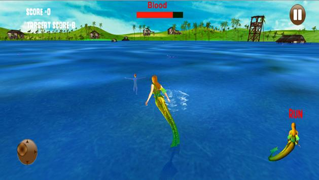 Hungry Mermaid Simulator Sea apk screenshot