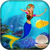 Anna princess :amazing Mermaid Princess wonderland icon