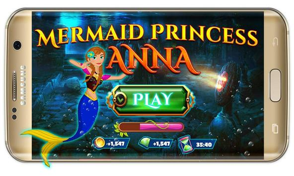 Anna princess :amazing Mermaid Princess wonderland poster