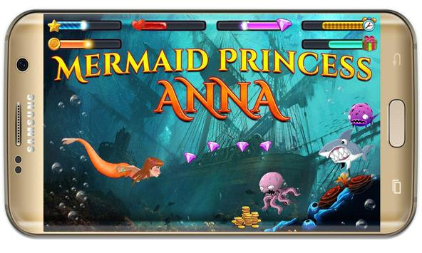 Anna princess :amazing Mermaid Princess wonderland screenshot 1