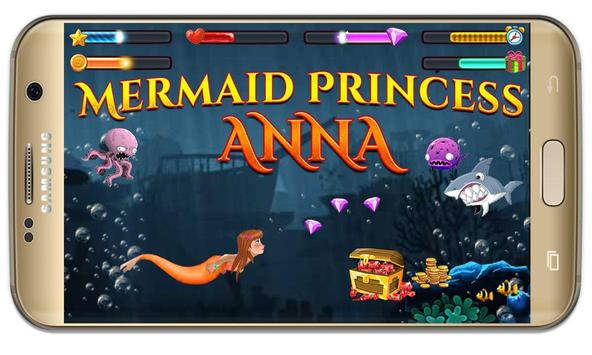 Anna princess :amazing Mermaid Princess wonderland screenshot 2