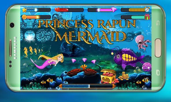 Mermaid Rapunzel in wonderland: Mermaid adventure screenshot 10