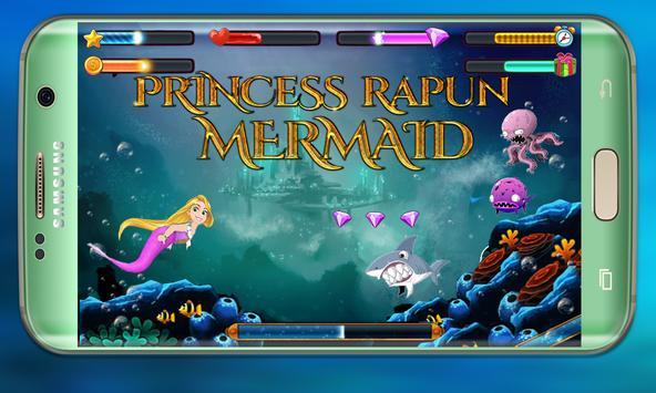 Mermaid Rapunzel in wonderland: Mermaid adventure screenshot 1