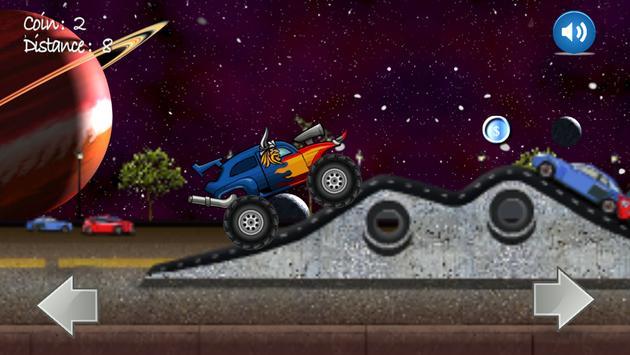 Monster Truck Climb Hill poster