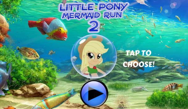Little Pony Mermaid Run 2 screenshot 1