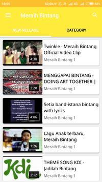 Video Musik Meraih Bintang screenshot 1