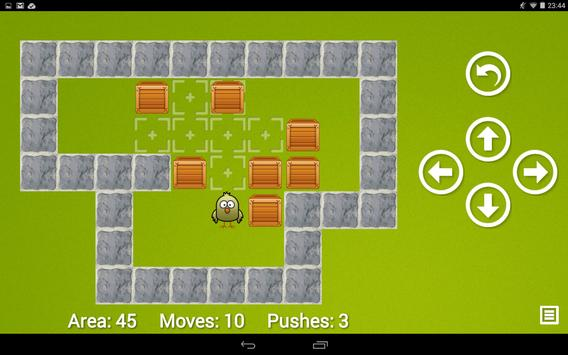 Sokoban Chicken - Push Box Puzzle apk screenshot