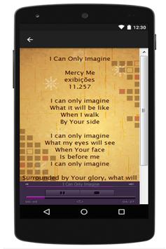 MercyMe Lyrics apk screenshot