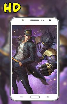 HD Jotaro Kujo Jojo Wallpaper screenshot 3