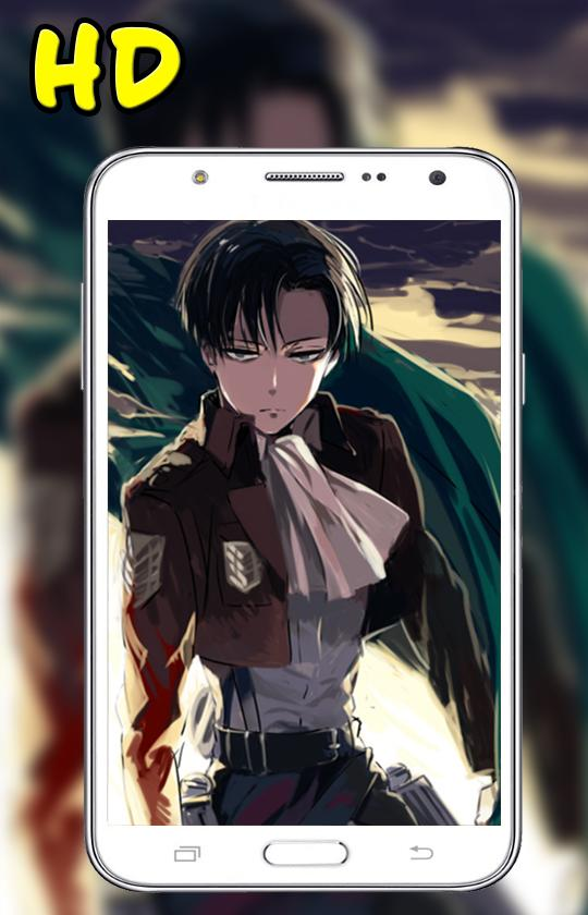 Hd Levi Ackerman Wallpaper For Android Apk Download