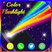 Flashlight Color Flash icon