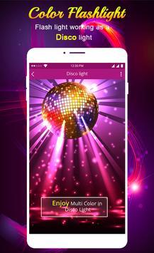 Flashlight Color Flash screenshot 5