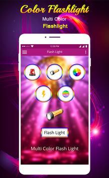 Flashlight Color Flash screenshot 8