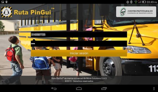 Ruta PinGui Conductor screenshot 12
