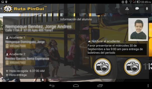 Ruta PinGui Conductor screenshot 8