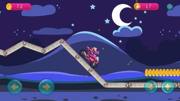 Hill Spy Rider for Barbie apk screenshot