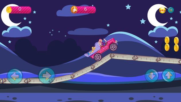 Hill Truck Climbing for Barbie apk screenshot