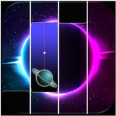 Galaxy Piano Tiles icon