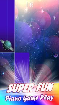 Galaxy Piano Tiles poster