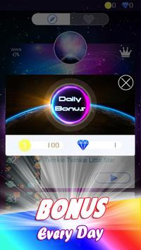 Galaxy Piano Tiles screenshot 1